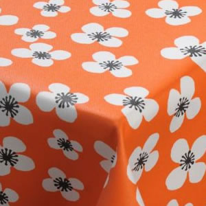 Floral Acrylic Tablecloth