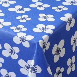 Blue Acrylic Tablecloth
