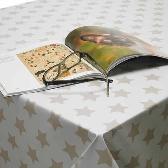 White PVC Tablecloth