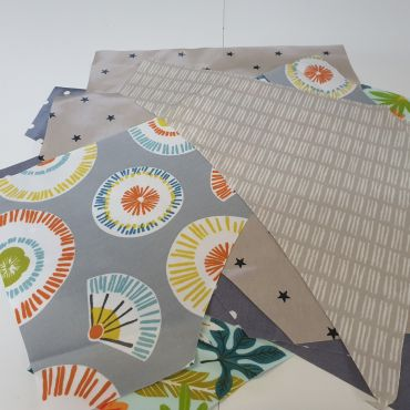 2kg Bag of Corner Offcuts, Remnants Oilcloth Tablecloth