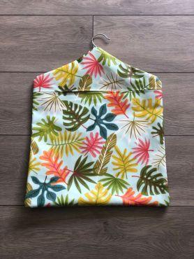 Duck Egg Botanic Wipe Clean Oilcloth Peg Bag
