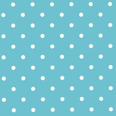 Blue and White Small Polka Dot PVC Vinyl Tablecloth