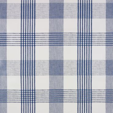 Blue Light Check PVC Vinyl Wipe Clean Tablecloth