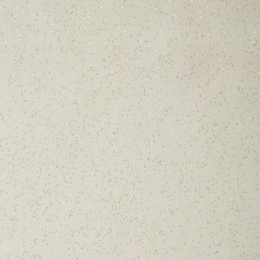 White Glitter Sparkle PVC Wipeclean tablecloth