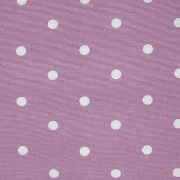 Dotty Mauve Polka Dot Curtain and Upholstery Fabric