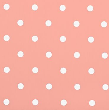 Dotty Rose Polka Dot Curtain and Upholstery Fabric