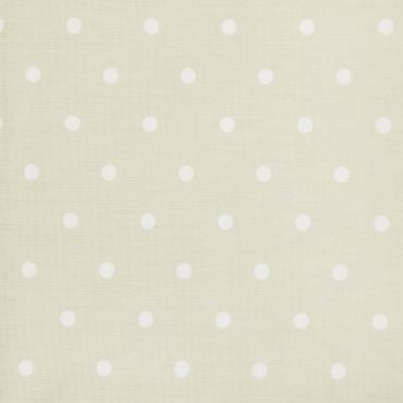 Dotty Sage Green Polka Dot Curtain and Upholstery Fabric