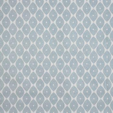 Duck Egg Geometric Ovals PVC Vinyl Wipe Clean Tablecloth