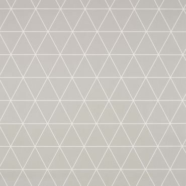 Grey Geometric Triangles Wipe Clean Tablecloth