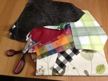 2kg Bag of Offcuts, Remnants PVC Tablecloth