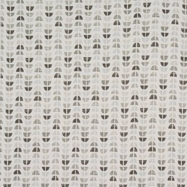 Odense Grey & Black Wipe Clean Tablecloth
