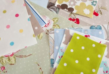 2kg Bag of Offcuts, Remnants Roll Ends Oilcloth Tablecloth