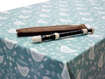 Duck Egg Narvik Birds Oilcloth Tablecloth