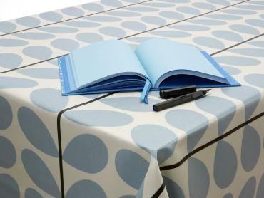 Orla Kiely Multi-Stem Powder Blue Wipe Clean Tablecloth