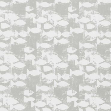 Taupe Fish Main Page Oilcloth