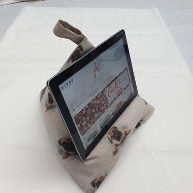 Pugs Dogs ipad/Tablet Cushion Stand Beani