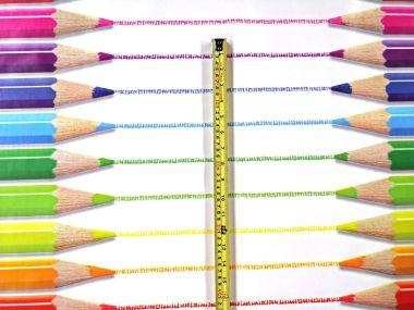 Crayons & Pencils PVC Vinyl Tablecloth