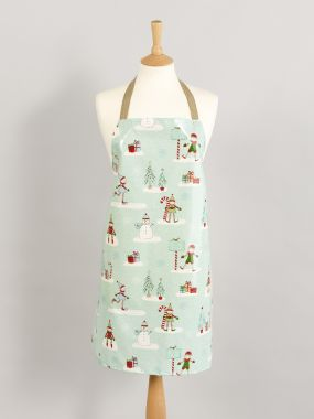 Duck Egg Elves Adult and Child Oilcloth Wipe Clean Apron