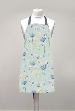 Bergen Duck Egg Adult or Child Oilcloth Wipe Clean Apron