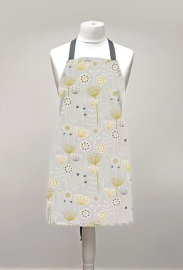 Bergen Grey Adults Oilcloth Wipe Clean Apron