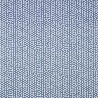 Dotty China Blue Polka Dot Oilcloth Wipe Clean Tablecloth