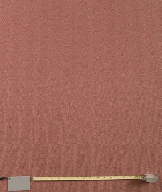 Harris Red Plain Curtain and Upholstery Fabric