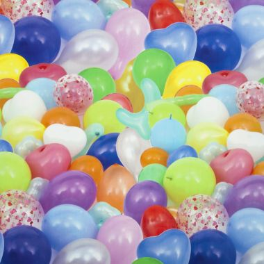Party Balloons PVC Vinyl Wipe Clean Tablecloth