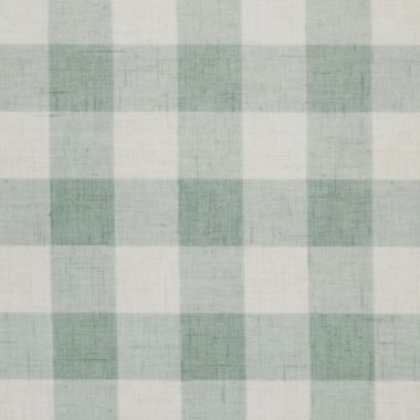 Duck Egg Large Gingham Check Oilcloth Wipe Clean Tablecloth