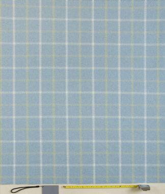 Lewis Parisian Blue Tartan Curtain and Upholstery Fabric
