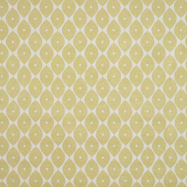 Sage Green Geometric Ovals PVC Vinyl Wipe Clean Tablecloth