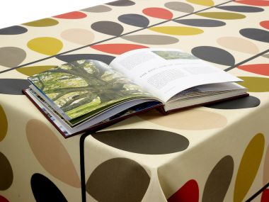 Orla Kiely Multi-Stem Oilcloth Wipeclean Tablecloth