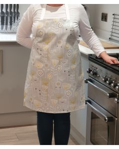 Bergen Grey Adult or Child Oilcloth Wipe Clean Apron