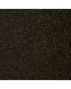 Black Glitter Sparkle PVC Vinyl