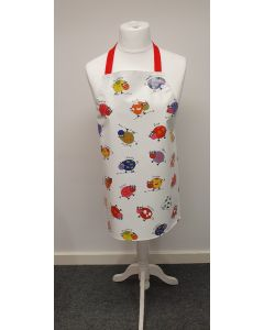 Multi Cows and Kids Names Adult or Child PVC Vinyl Wipe Clean Apron