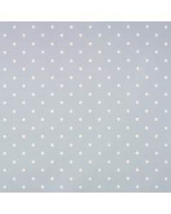 Dotty Grey/Blue Wipe Clean Oilcloth