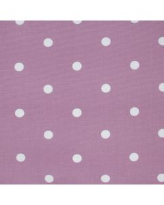 Dotty Mauve Polka Dot Curtain and Upholstery Fabric