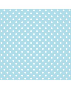 Dotty Sky Blue Polka Dot Curtain and Upholstery Fabric