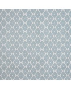 Duck Egg Geometric Ovals PVC Vinyl Wipe Clean Tablecloth