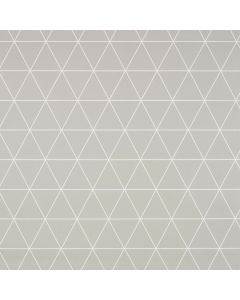 Grey Geometric Triangles Wipe Clean Tablecloth