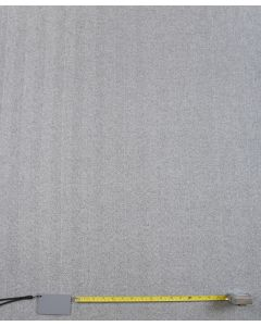 Harris Charcoal Plain Curtain and Upholstery Fabric