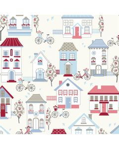 Happy Campers Curtain and Upholstery Fabric