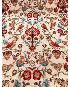 Tapestry Morris Birds and Flowers Curtain and Upholstery Fabric