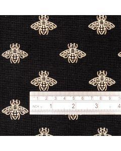 Bergen Ochre Cotton Curtain Fabric