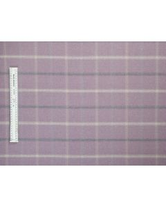 Lewis Lilac Tartan Curtain and Upholstery Fabric
