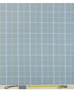 Lewis Parisian Blue Tartan Curtain and Upholstery Fabric