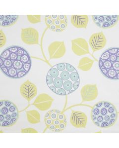 Moroccan Floral Swirl PVC Vinyl Wipe Clean Tablecloth