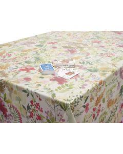 Bergen Burnt Orange Wipe Clean Tablecloth
