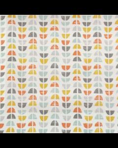 Odense Grey Curtain Fabric