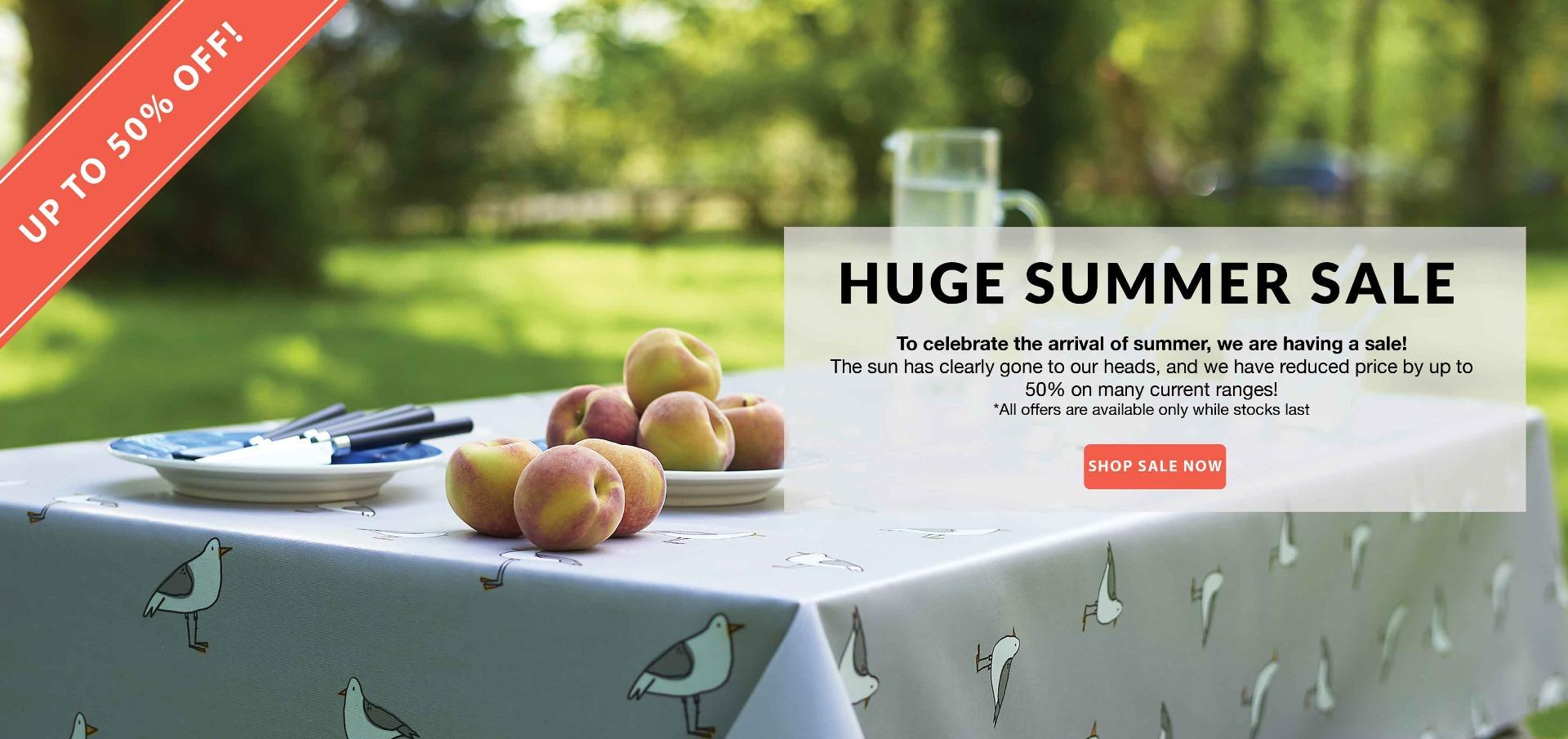 Summer Sale Oilcloths