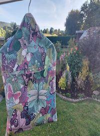 Dragonflies Oilcloth Peg Bag
